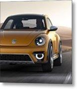 2014 Volkswagen Beetle Dune Concept Metal Print