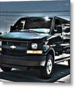 2015 Chevrolet Express Van Metal Print