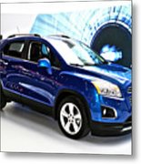 2015 Chevrolet Trax Number 1 Metal Print