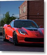 2015 Corvette Stingray  Metal Print