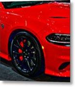 2015 Dodge Charger Srt Hellcat Metal Print
