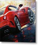 2015 Ferrari 599 Gtb Fiorano Metal Print