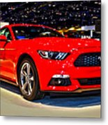 2015 Ford Mustang Coupe I4 Premium Metal Print