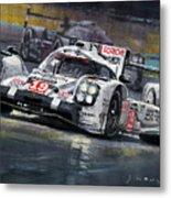 2015 Le Mans 24 Lmp1 Winner Porsche 919 Hybrid Bamber Tandy Hulkenberg Metal Print