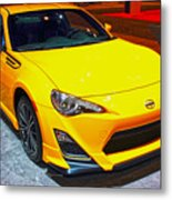 2015 Scion Fr-s Number 2 Metal Print