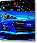 2015 Subaru Brz Metal Print