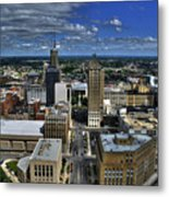 2015 View Of Court Street Metal Print