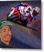 2016 Fim Superbike Nicky Hayden Metal Print