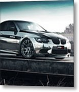 2016 Fostla De Bmw M3 Coupe 2 Metal Print