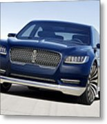 2016 Lincoln Continental Concept Metal Print