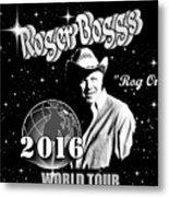 2016 World Tour Metal Print