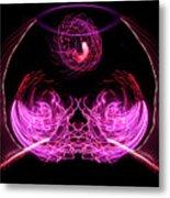 201606040-039b Bowl Of Fireworks 4x5 Metal Print
