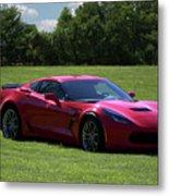 2017 Corvette Metal Print
