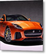 2017 Jaguar F Type Metal Print