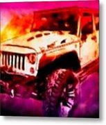 2017 Jeep Unlimited Beast Metal Print