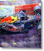 2017 Singapore Gp Red Bull Racing Ricciardo Metal Print
