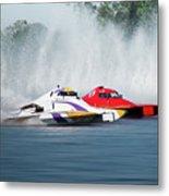 2017 Taree Race Boats 05 Metal Print