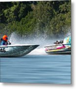 2017 Taree Race Boats 08 Metal Print