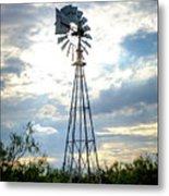 2017_08_midland Tx_windmill 2 Metal Print