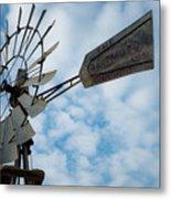 2017_08_midland Tx_windmill 5 Metal Print