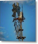 2017_08_midland Tx_windmill 8 Metal Print