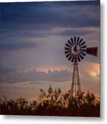 2017_09_midland Tx_windmill 11 Metal Print