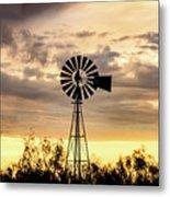 2017_09_midland Tx_windmill 6 Metal Print