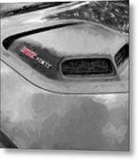 2018 Dodge Challenger 392 Hemi Scat Pack Shaker Rt 005 Metal Print