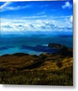 Landscape Graphic Metal Print