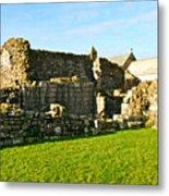 Lindisfarne Priory Metal Print