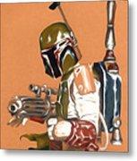 Star Wars Episode 1 Art Metal Print