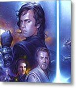 Star Wars For Art Metal Print