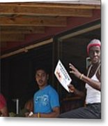 Roatan People Metal Print