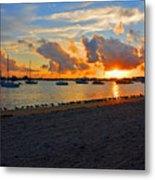 22- Sunset At Seagull Beach Metal Print