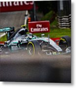 Formula 1 Monza Metal Print