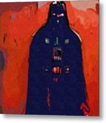 Star Wars At Art Metal Print