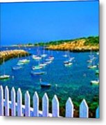 2381  Rock Harbor Metal Print
