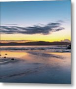 Daybreak Seascape Metal Print