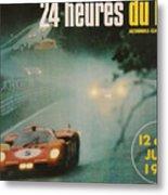 24 Hours Of Le Mans - 1971 Metal Print
