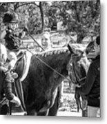 Manito Equestrian Center Benefit Horse Show Metal Print