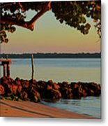 24- Morning In North Palm Beach Metal Print