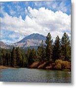 Mt. Lassen National Park Metal Print