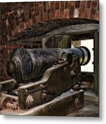 24 Pounder Cannon Metal Print