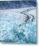 Sawyer Glacier At Tracy Arm Fjord In Alaska Panhandle Metal Print