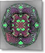 2451 Mandala A Metal Print