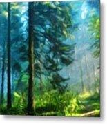 Nature Art Landscape Metal Print