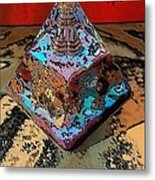 Abstract Orgone Metal Print