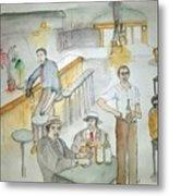 Italians  Ellis Island  Prohibition Album Metal Print