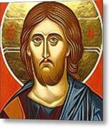 Jesus Christ Christian Art Metal Print
