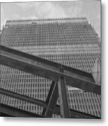 World Trade Center Under Construction 1967 Metal Print